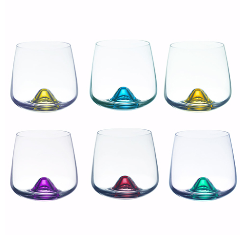 Multi-purposes glass (6pcs) - Verres Islande 6 couleurs assorties